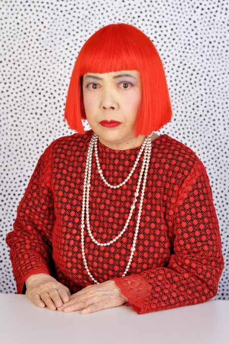 Yayoi Kusama turned her visions of a polka dot covered world into art.