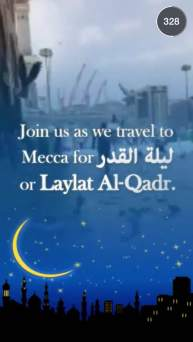 Snapchat Story Features Mecca on Laylat Al Qadr